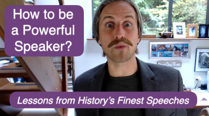 How To Be A Powerful Speaker? Tour Leader Lessons From History's Finest Speeches