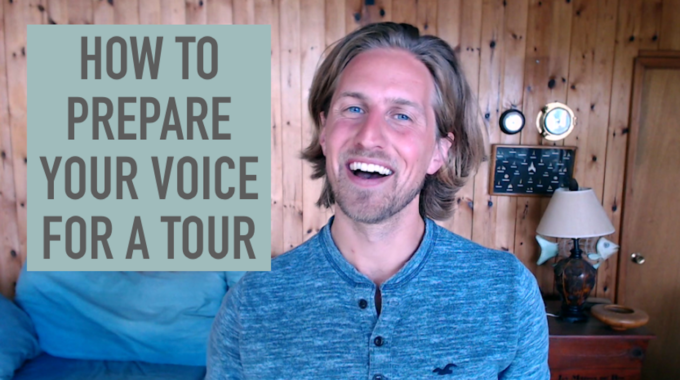 [VIDEO] How To Get Your Voice Ready For Tour - Vocal Warm Up Exercises